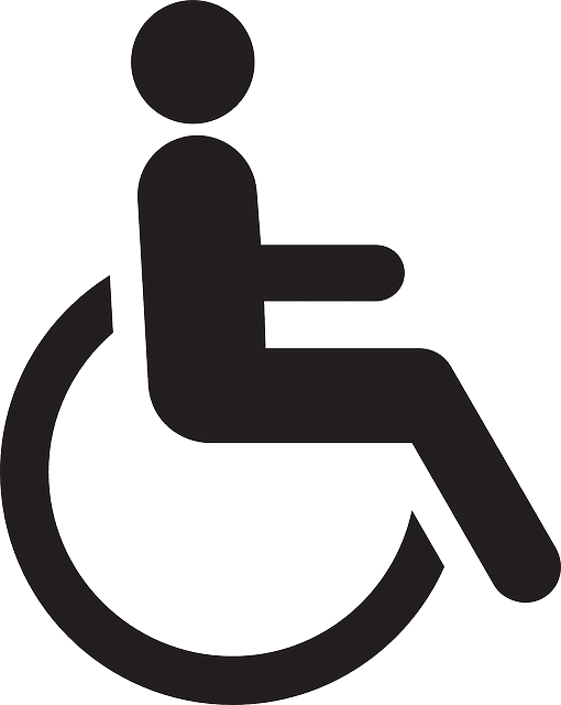 handicapped image transparent